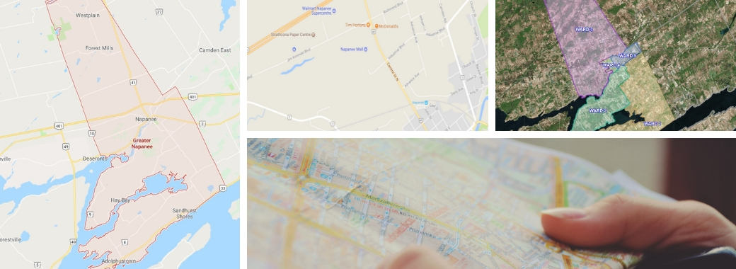 maps of greater napanee